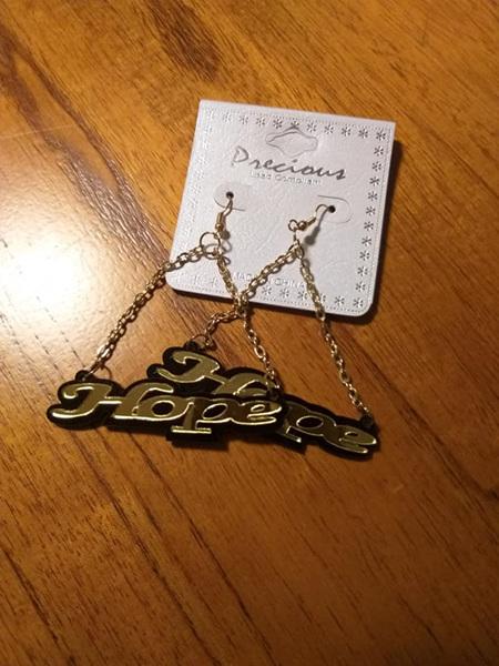Hope Earrings - Silver & Gold