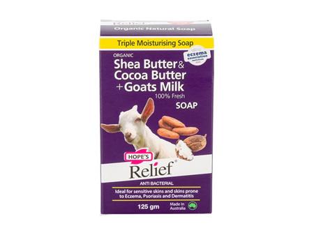 Hopes Relief Goats Milk Soap 125g