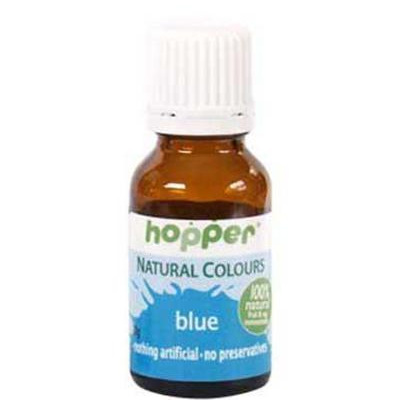 Hopper Natural Food Colouring Blue 20g