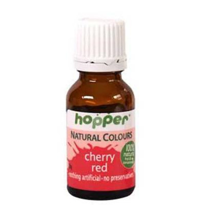 Hopper Natural Food Colouring Red 20g
