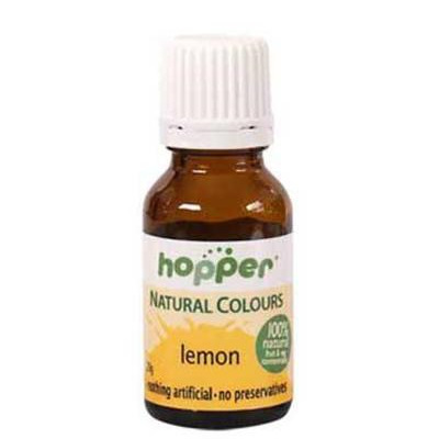 Hopper Natural Food Colouring Yellow 20g