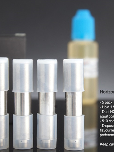 Horizontal Dual Coil Cartomizers