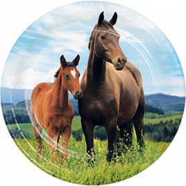 Horse plates x 8 - New design.