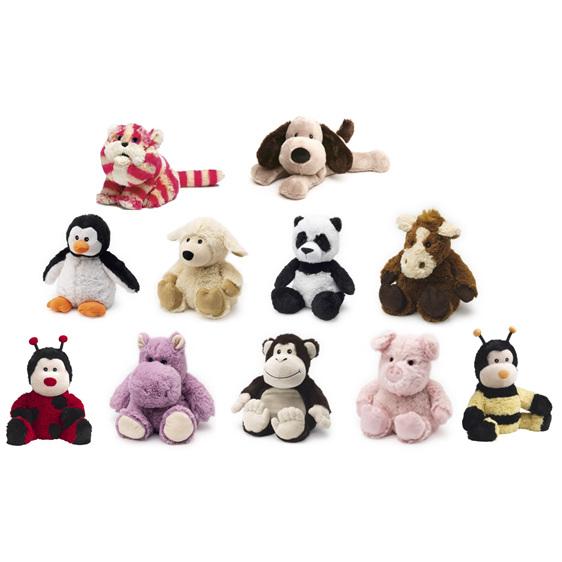 horse, puppy, penguin, panda, pig, hippo, dog, bagpuss, sheep, ladybird, bumblee