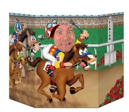 Horse Racing Photo Prop