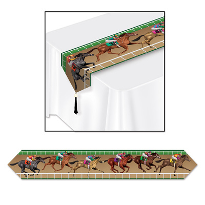 Horse Racing Table Runner