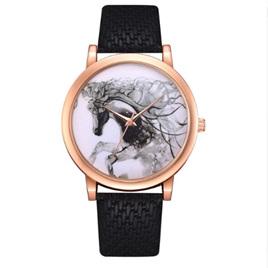 Horse Watch - Black Strap