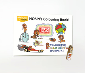 HOSPI Colouring Book & Pencil Set