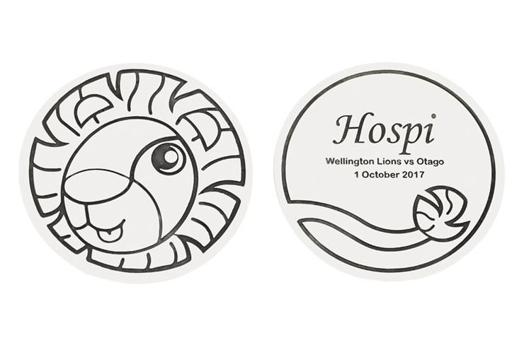 Hospi, Wellington Childrens Hospital, Bravery Medal, Hospi Pendant