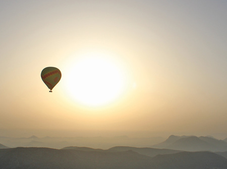 Hot Air Balloon Engagement Proposal: Jamie and Tom's Unforgettable Trip To India
