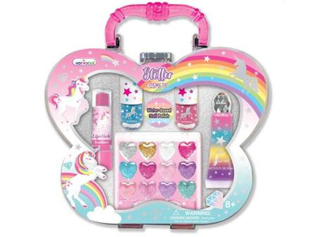 HOT FOCUS Glitter Cosmetic Set