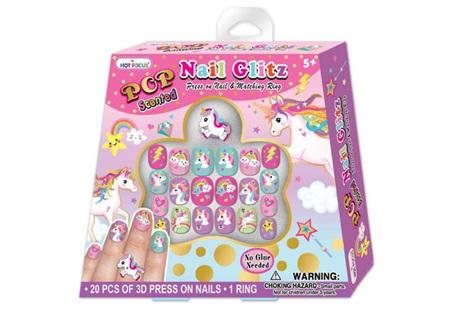 HOT FOCUS Pop N/Glitz Set Unicorn