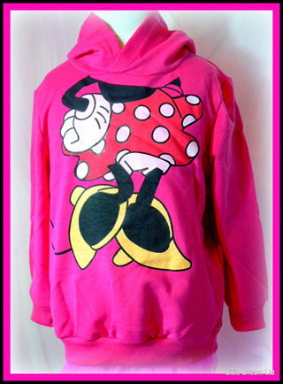 """""""Hot Pink Miss Mouse Hoodie"""""""