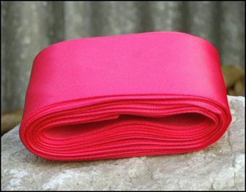 Hot Pink Wedding Car Ribbon
