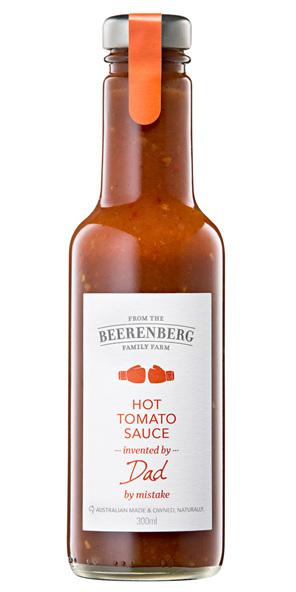 Hot Tomato Sauce - 300ml