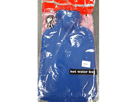 Hot Water Bottle 2L & Cover Blue