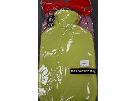 Hot Water Bottle 2L & Cover Lime