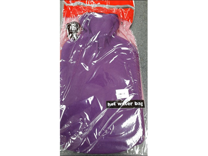 Hot Water Bottle and COVER PURPLE