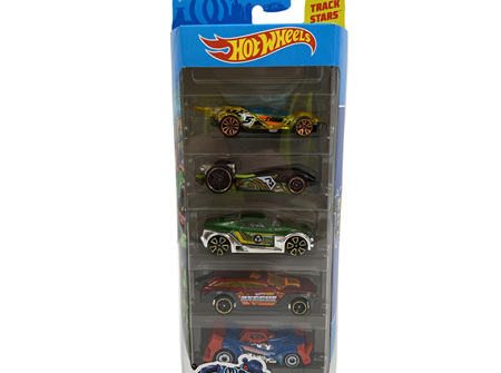 Hot Wheels 5-Car Gift Pack - City Vs Robo Beasts