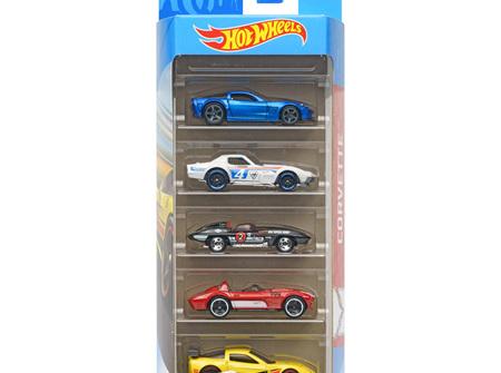Hot Wheels 5-Car Gift Pack - Corvette