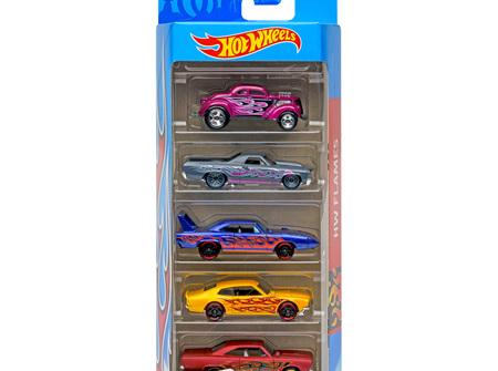 Hot Wheels 5-Car Gift Pack - HW Flames