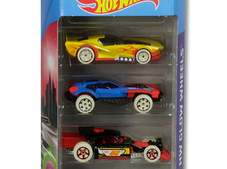 Hot Wheels 5-Car Gift Pack - HW Glow Wheels