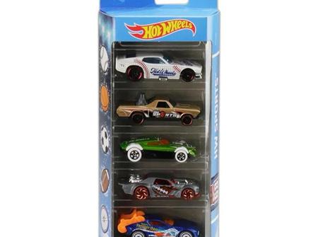 Hot Wheels 5-Car Gift Pack - HW Sports