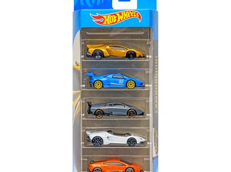 Hot Wheels 5-Car Gift Pack - Lamborghini