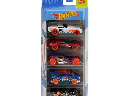 Hot Wheels 5-Car Gift Pack - Track Builder Unlimited