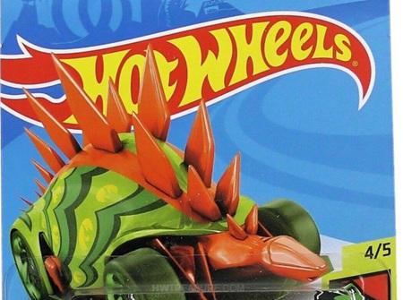 Hot Wheels Dino Riders Motosaurus