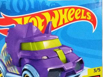 Hot Wheels Dino Riders Tricera-Truck