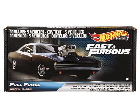 Hot Wheels Fast & Furious Premium Bundle (5 cars)
