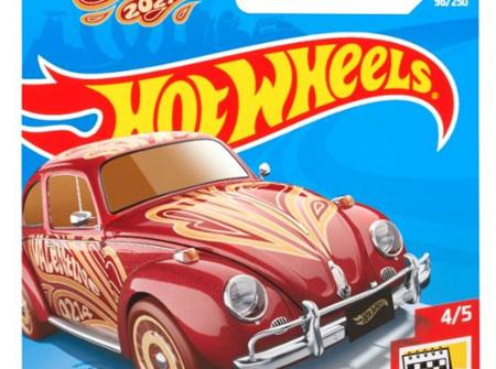 Hot Wheels Holiday Racers Volkswagen Beetle