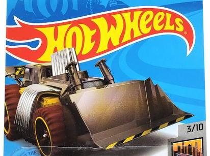 Hot Wheels HW Metro Speed Dozer