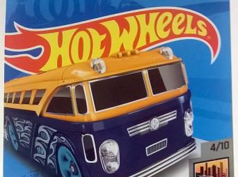 Hot Wheels HW Metro Surfin' School Bus