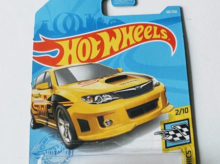 Hot Wheels HW Speed Graphics Subaru WRX STI
