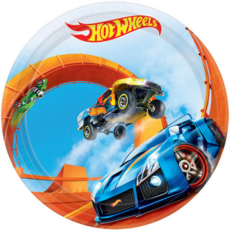Hot Wheels plates x 8