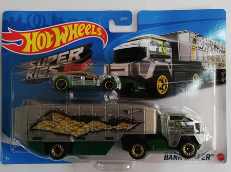 Hot Wheels Super Rigs Bank Roller