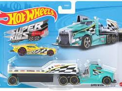 Hot Wheels Super Rigs Drivin' Wild