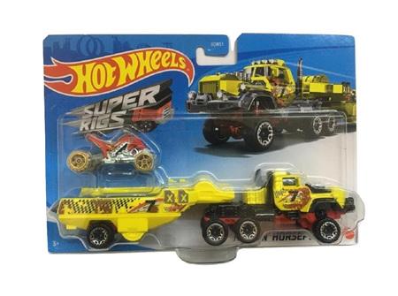 Hot Wheels Super Rigs Haulin' Horsepower