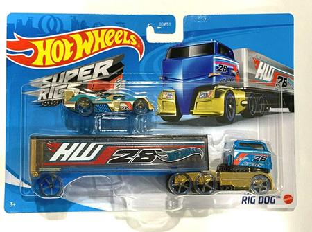Hot Wheels Super Rigs Rig Dog