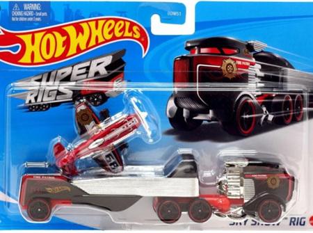 Hot Wheels Super Rigs Sky Show Rig