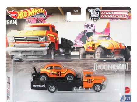 Hot Wheels Team Transport VW Baja Bug & Horizon Hauler