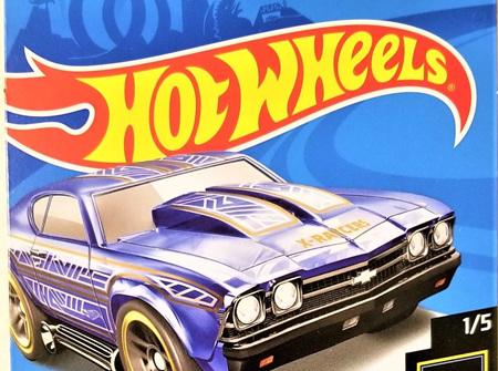 Hot Wheels X-Racers '69 Chevelle