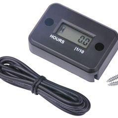 Hour Meter for Small 2 stroke and 4 stroke engine