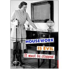 Housework Fridge Magnet