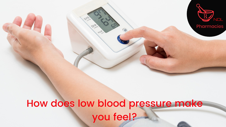 How does low blood pressure make you feel?