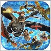How to Train your Dragon - Dinner Plates x 8