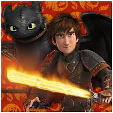 How to Train Your Dragon - Lunch Napkins x 16