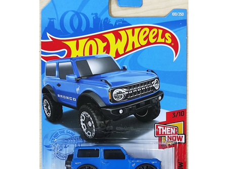 How Wheels Then And Now '21 Ford Bronco